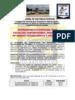 Brochure Curso Vigilancia Academia Bodyguards Bosa