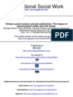 Chilean Social Workers and Job Satisfaction