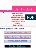 Ilmu Anatomi Dan Fisiologi