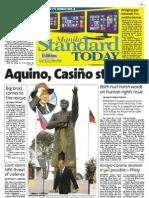 Manila Standard Today -- Saturday (October 27, 2012) issue