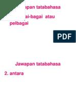 TATABAHASA 100