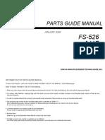 Parts Guide Manual Fs-526_a11p