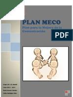 Plan MECO. Plan para la Mejora de la Comunicación