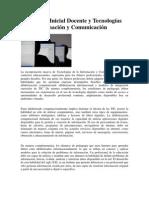 Formación Inicial Docente y TIC
