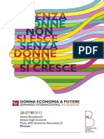 DONNA ECONOMIA & POTERE 2012