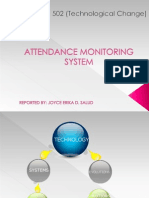Attendance Monitoring System_report