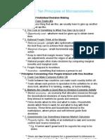 Ten Principles of Microeconomics