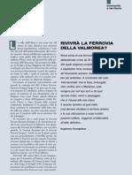 Breve Storia Della Ferrovia Fra La Valle Olona e La Valmorea