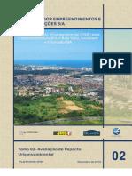 Estudo de Impacto Urbano Ambiental (EIUA) do Horto Bela Vista, Salvador, BA - Tomo 2 - Avaliação de Impacto Urbano Ambiental