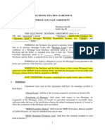 MERS Electronic Tracking Agreement Whole Loan Template v6