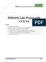 DSK6416 Labs Project With CCS V4
