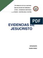 Trabajo de Monografia Evidencia de Jesucristo