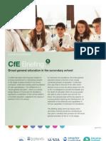 CfE Briefing 1