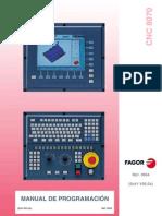 Fagorman 8070 Prg