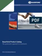 Product Catalog Bauerfeind Usa 0312