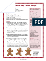 Polar Express Activities - Gingerbread Cookies