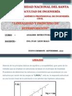 LINEALIDAD Y PRINCIPIO DE SUPERPOSICIÓN