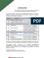 codigos de infranccion de transito - peru