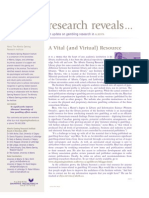 Research Reveals - Issue 4, Volume 1 - Apr / May 2002