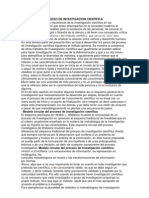 MODELOS DEL PROCESO DE INVESTIGACIÓN CIENTÍFICA