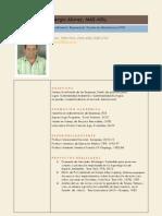 Curriculum Sergio Alavez
