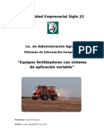- Fertilizadoras Con Dosis Variable - Juan Fournier (AAG194)