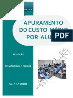tribunal de contas 2012_[relatório] apuramento do custo médio por aluno