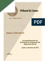 tribunal de contas 2012_[relatório] acompanhamento da execução do orçamento da segurança social [janeiro a dezembro 2011]
