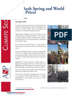 The Arab Spring and World Food Prices