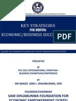 Key Stategies for Driving Enconomic.....