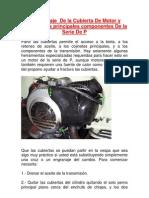 Desmontaje de La Cubierta de Motor P150