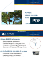 6_AirWalk_Rural CDMA 450 Presentation
