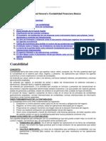 Contabilidad General o Contabilidad Financiera Basica