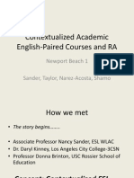 Contextualized Academic English-Paired Courses and Reading Apprenticeship Models