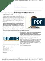 EPIC Welcomes Benefits Consultant Adam Medeiros