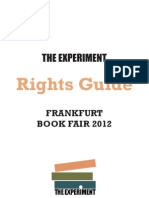 The Experiment - Frankfurt 2012 Rights Guide