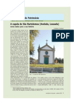 A capela de São Bartolomeu (Aveleda, Lousada)
