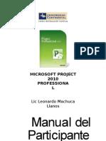 Project 2010 - LMachuca