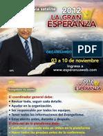Organizando Evangelismo Satelite