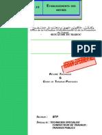 M23 Etablissement des métrés BTP-TSCT