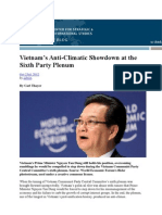 Thayer Vietnam's Anticlimatic Showdowon at the  6th Plenum