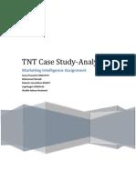 TNT Case Study _ Marketing Intelligence