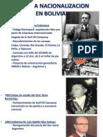 Segunda Nacionalizacion en Bolivia