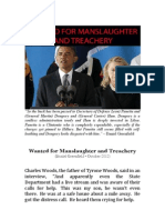 Wanted for Manslaughter and Treachery • Daniel Greenfield