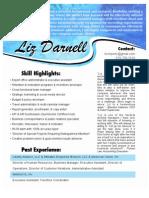 LIZ DARNELL - Resume & Recommendations