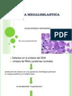 Anemia Megaloblastica Vivian