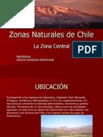 Zonas Naturales de Chile TAREA
