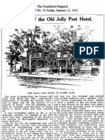 Passing of the Jolly Post Hotel