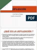 liofilizacion presentacion