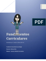2.0 Fundamentos Currículares